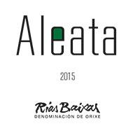 Etiqueta Aleata Rías Baixas Vino blanco D.O. Rías Baixas