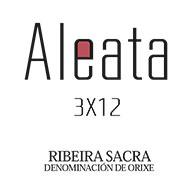 Etiqueta Aleata 3x12 Vino tinto D.O. Ribeira Sacra