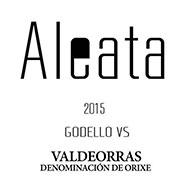 Etiqueta Aleata VS Vino blanco D.O. Valdeorras